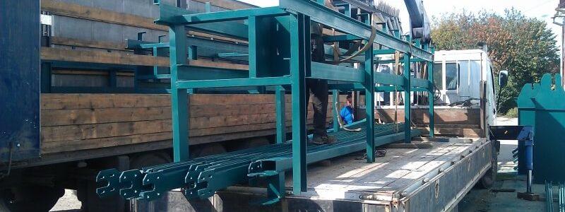 Отгрузка оборудования для лесопеработки