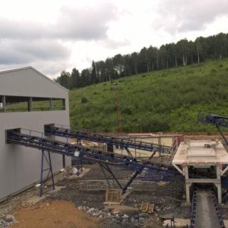Наши конвейеры на угольном разрезе