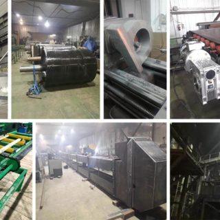 В зимний период на нашем заводе было спроектировано и произведено множество единиц конвейерного оборудования.