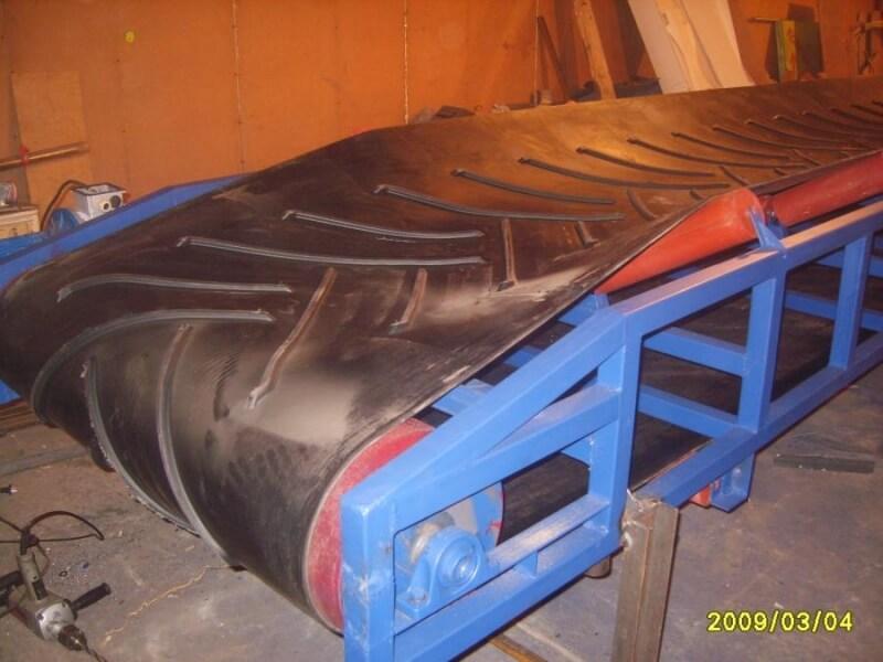 Конвейера с шевронными лентами транспортер 3904