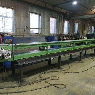 Налажено серийное производство безроликовых конвейеров закрытого типа