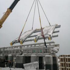 Монтаж цепных конвейеров для завода МДФ LATAT